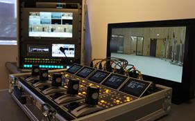 Part of the multi-camera UHD flyway system designed and produced by ATG Danmon for United Music Group